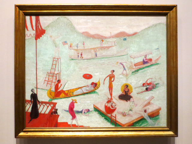 lake placid florine stettheimer 1919 on temporary display at ago toronto