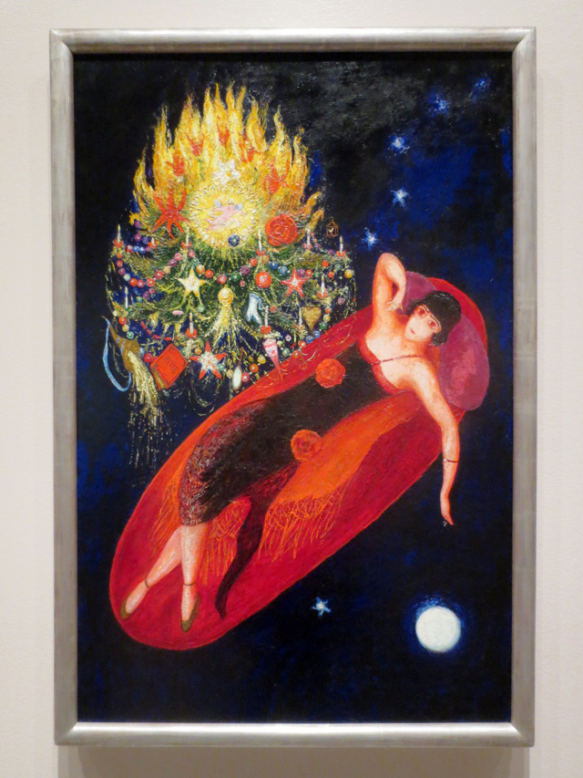 portrait of my sister ettie by florine stettheimer temporarily on display at the ago toronto
