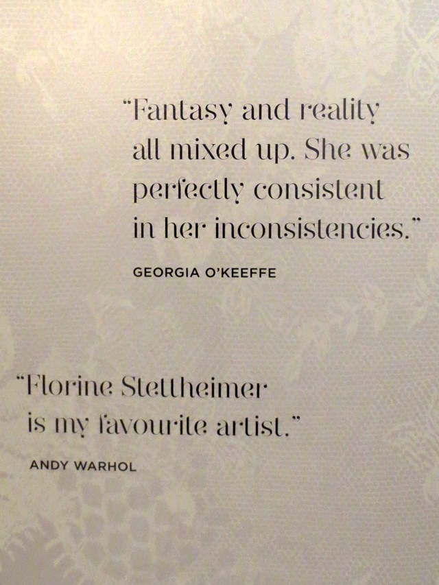 quotes from other artists about florine stettheimer