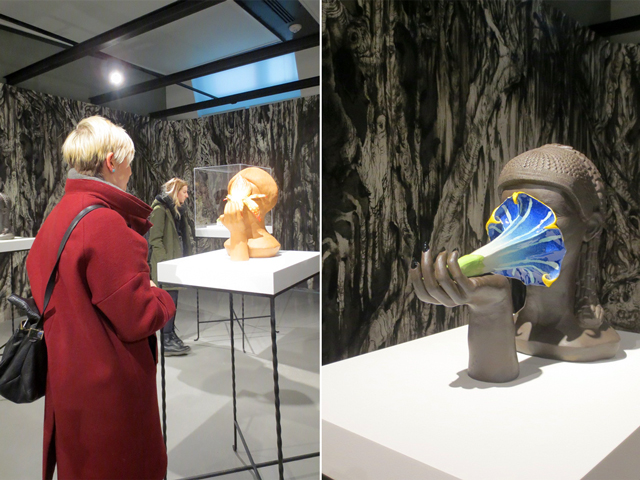 shary boyle sculptures jim holyoak drawing at onsite gallery toronto
