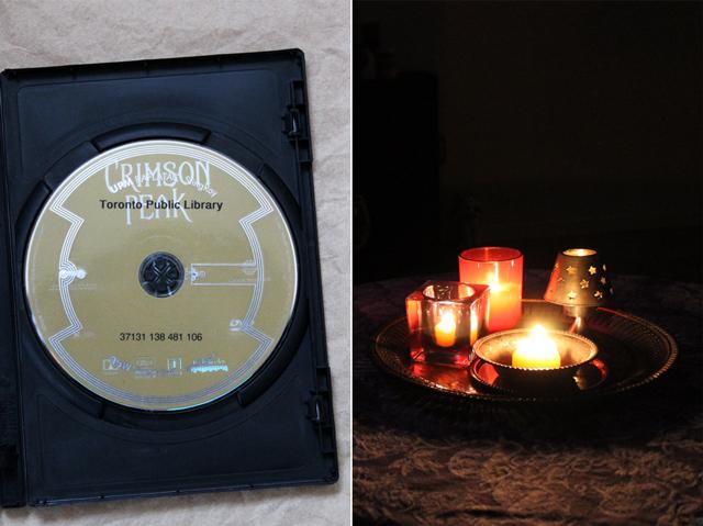 spooky movie watching