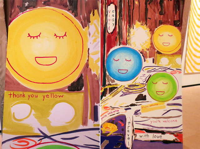 thank you youre welcome painting details sandra meigs at ago