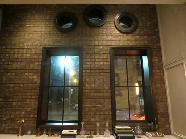 three round windows