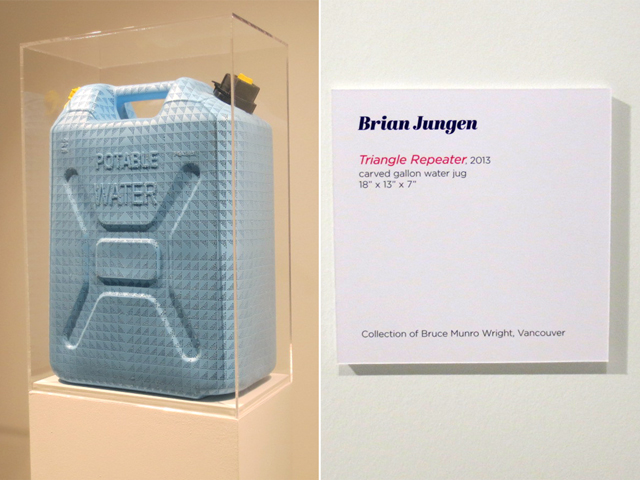 triangle repeater by brian jungen