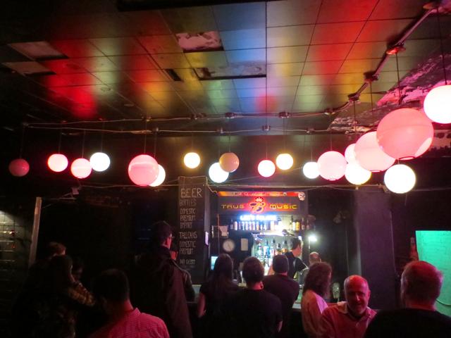 bar area lees palace toronto