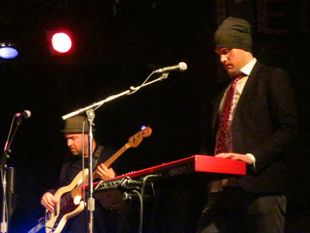 bass and keyboards soul motivators band lees palace toronto