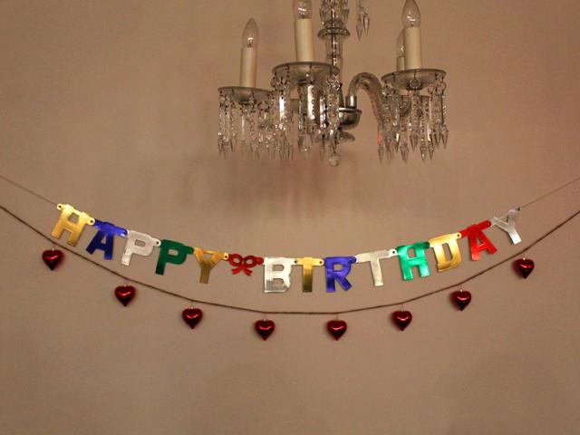 birthday valentine banner