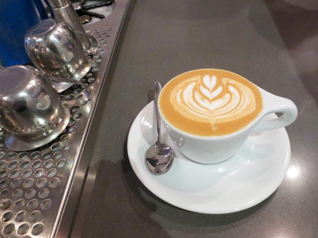 coffee art at early bird cafe queen street west near bathurst toronto