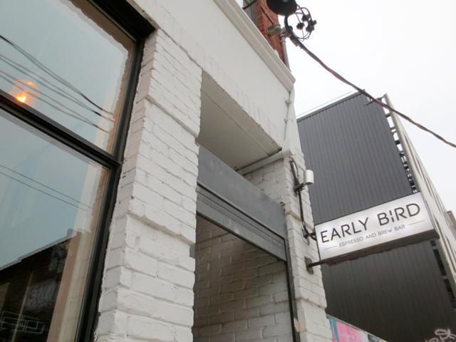 early bird cafe sign queen street west toronto