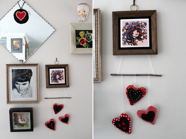 handmade valentine decorations for hanging