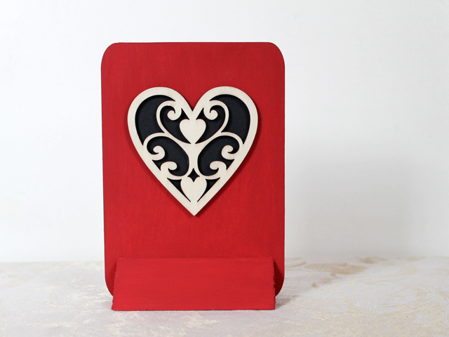 how to make a valentine decoration for tabletop crafting diy