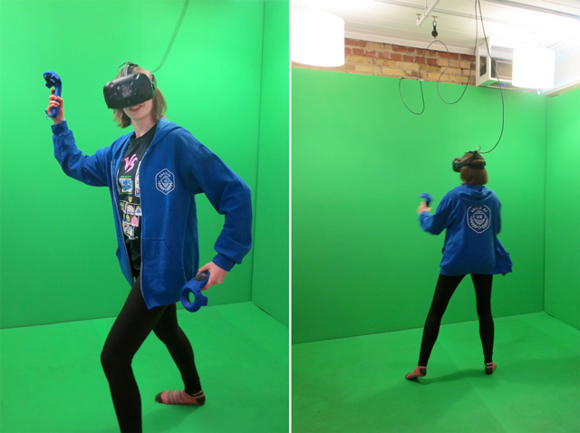in action at house of vr toronto