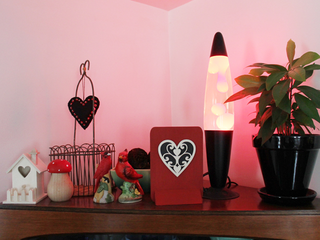 lava lamp valentine decor
