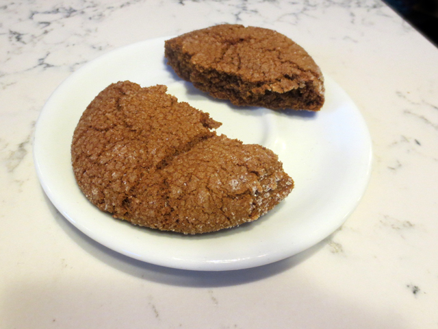 soft ginger cookie