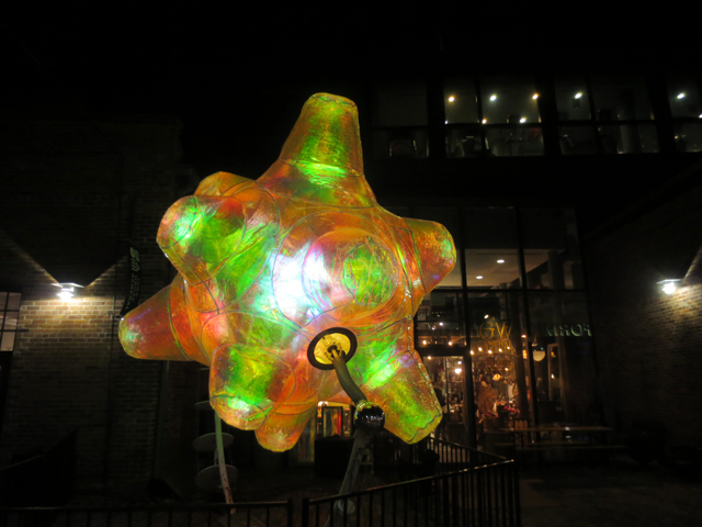 the zoa by martin taylor the distillery district light festival toronto