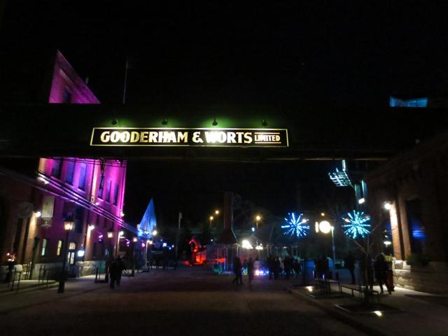 toronto light festival distillery district