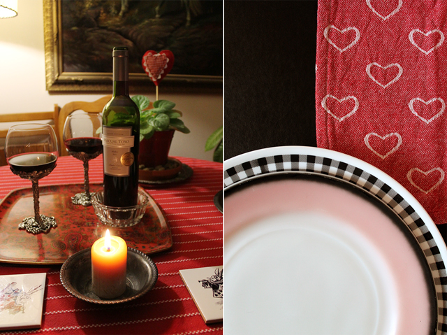 wine and tableware