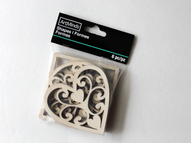 wooden shapes for crafting found at michaels