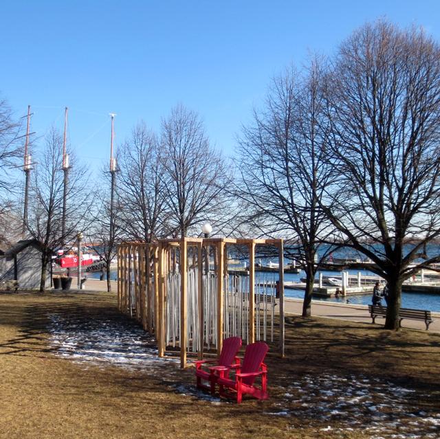 Toronto waterfront ice breakers interactive art installations ensemble by joao araujo sousa and joana correia silva Portugal