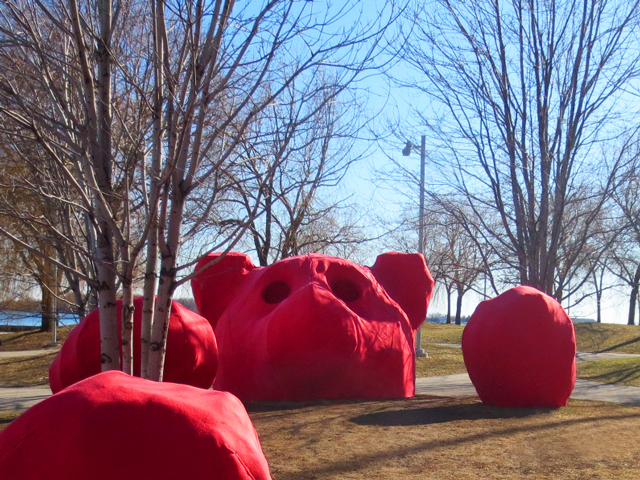 art installation toronto waterfront