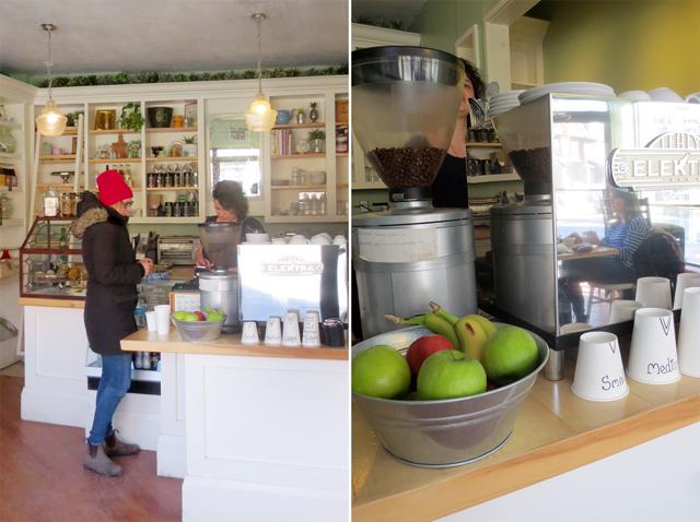 at noble coffee bloor street near dundas toronto