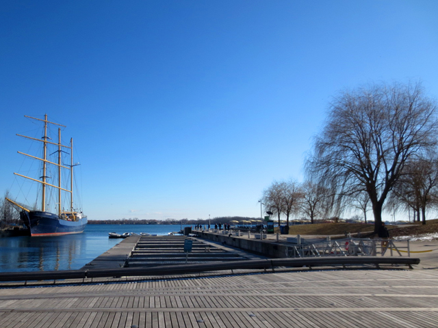 big sail boat toronto waterfront