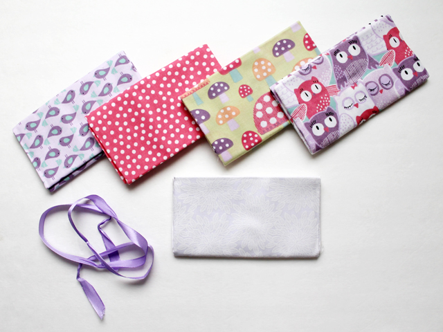bundle of five fat quarters quilting cotton from michaels