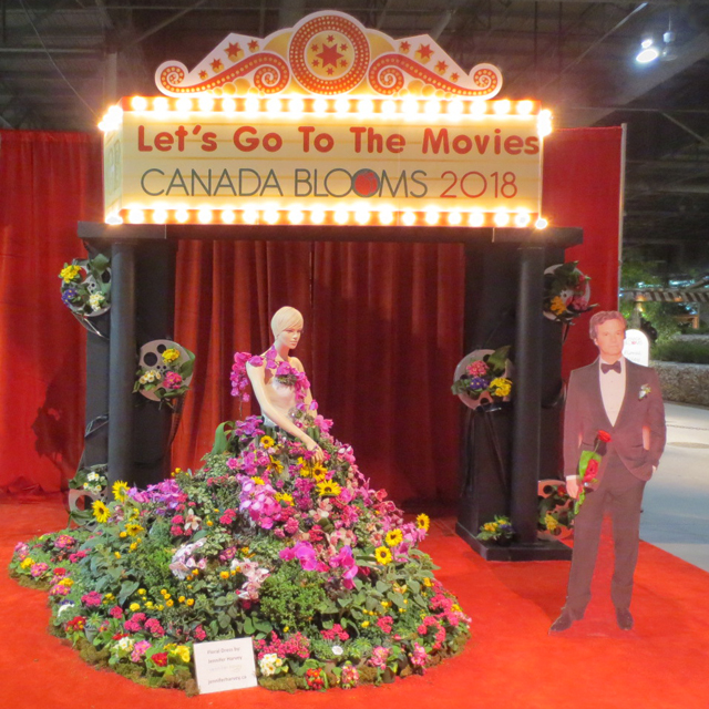 canada blooms 2018 lets go to the movies theme