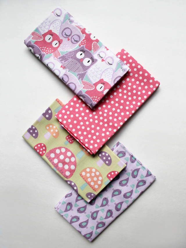 coordinated printed cotton fat quarters for quilting from michaels