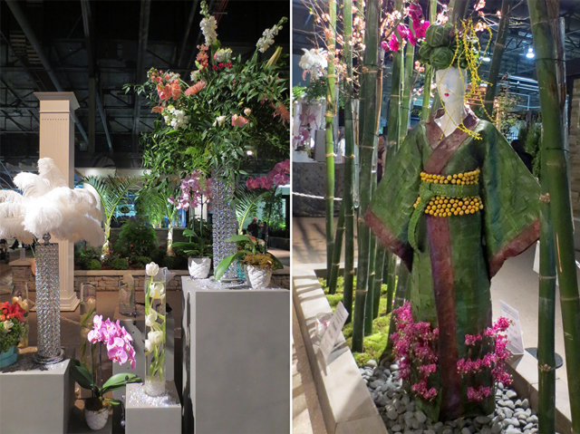floral ally installations at canada blooms toronto