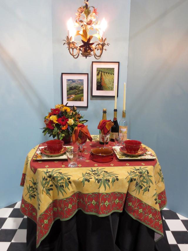 functional show table at canada blooms garden festival toronto