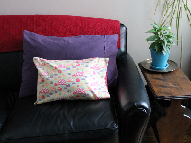 handmade gift for a child small pillow cases to fit on cushion insert