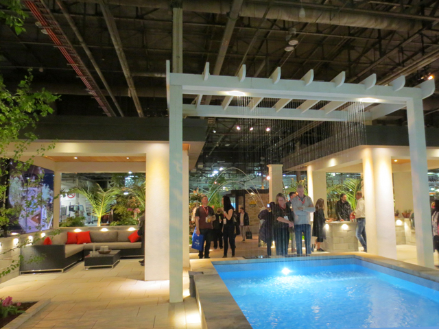 hollywood after party garden at canada blooms horticulture exhibition toronto
