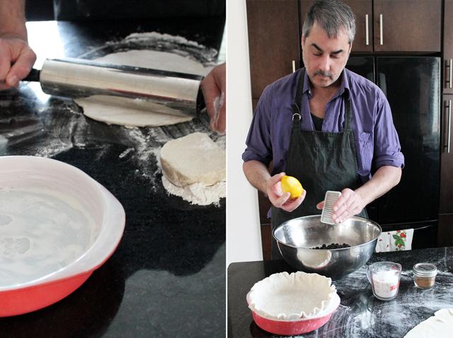 n making pie
