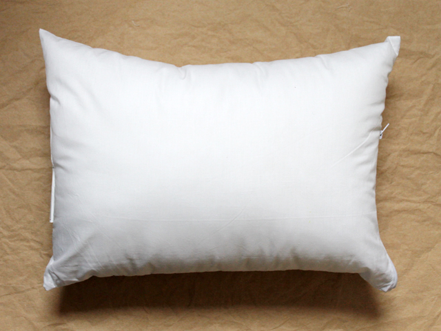 pillow insert with zipper perfectly sized for a child