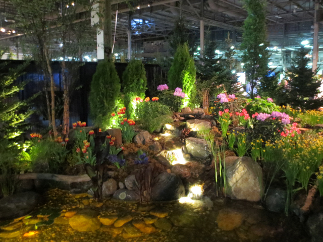 this is our movie by jackson pond waterfall at canada blooms garden show toronto