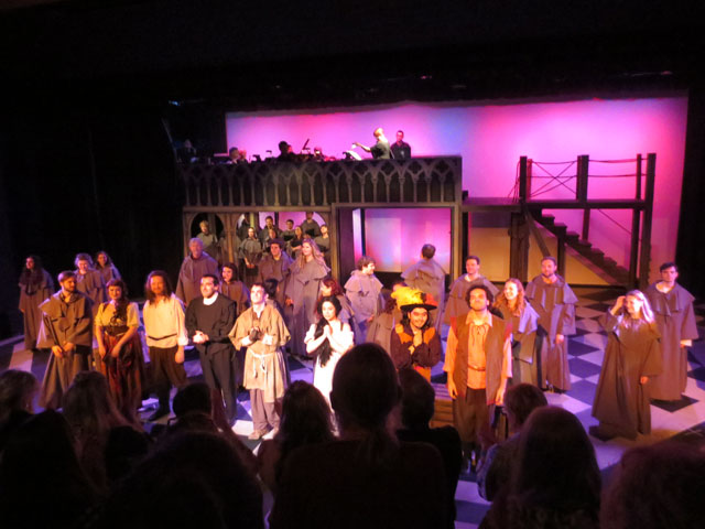 alexander showcase theatre toronto community theatre production of hunchback of notre dame
