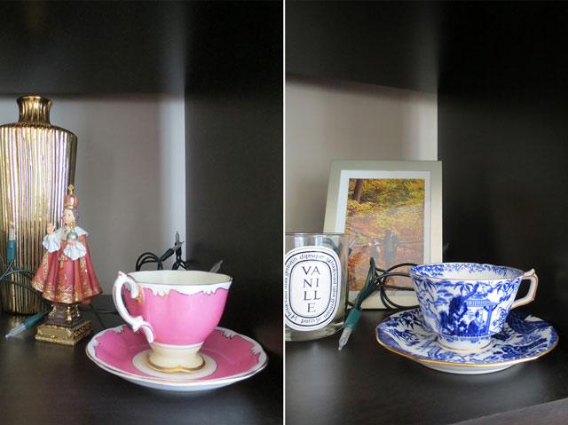 antique china teacups