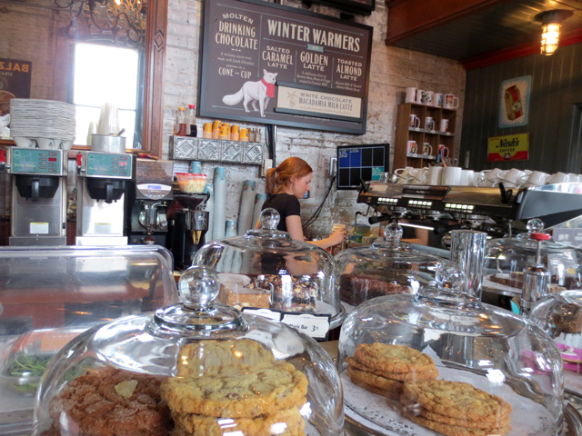 at balzacs coffee shop distillery district toronto