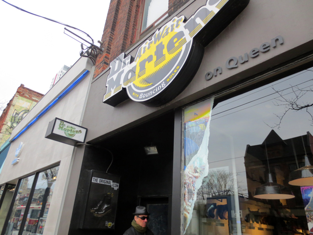at dr martens queen street west toronto