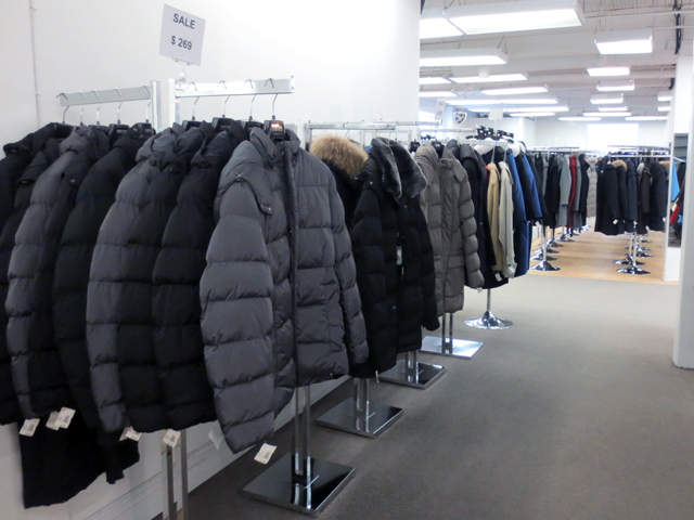 coates and jackets at lornes on spadina avenue toronto