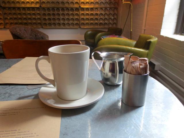 coffee at drake commissary toronto