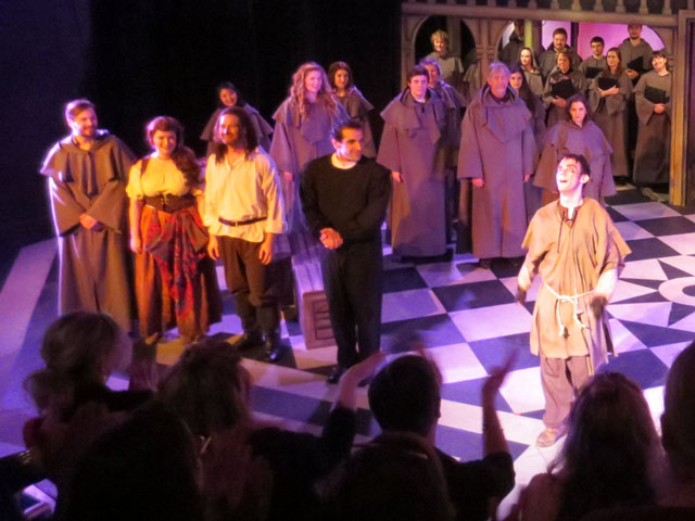 curtain call for alexander showcase theatre performance hunchback of notre dame toronto