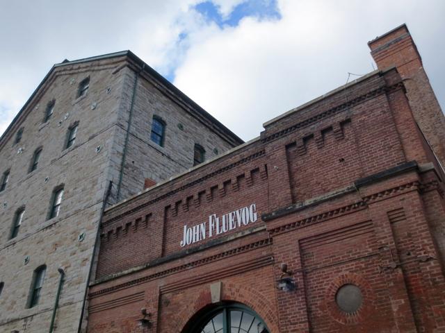 historic buildings toronto distillery district