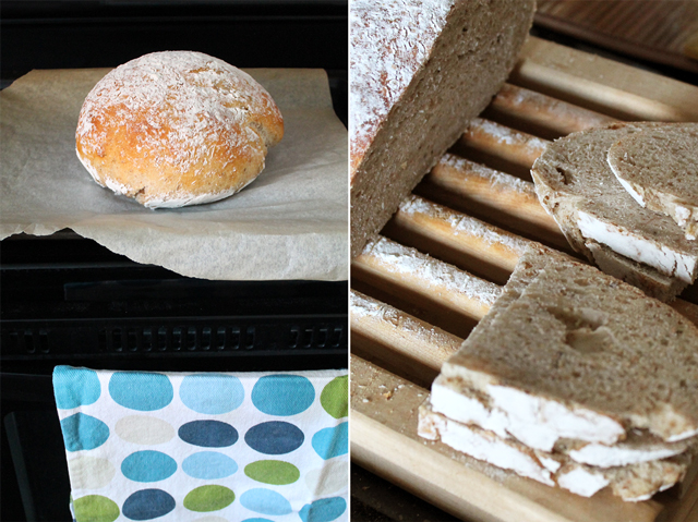homemade sourdough rye bread using selfmade starter toronto
