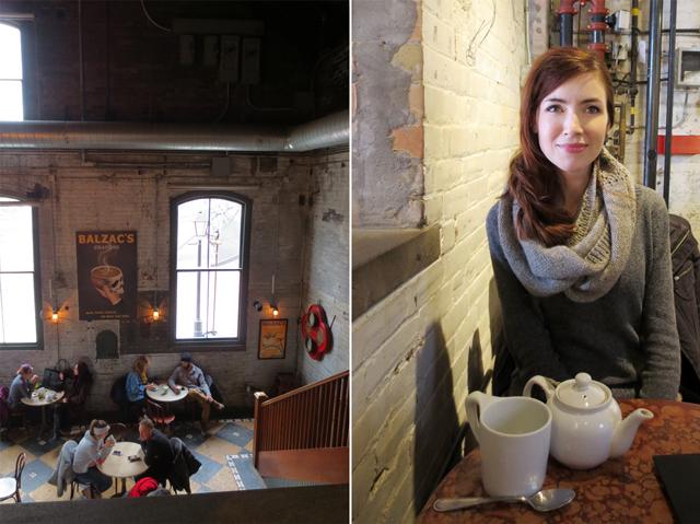 j at coffee shop
