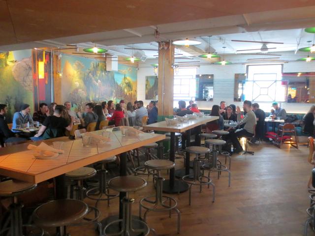 large room at drake commissary