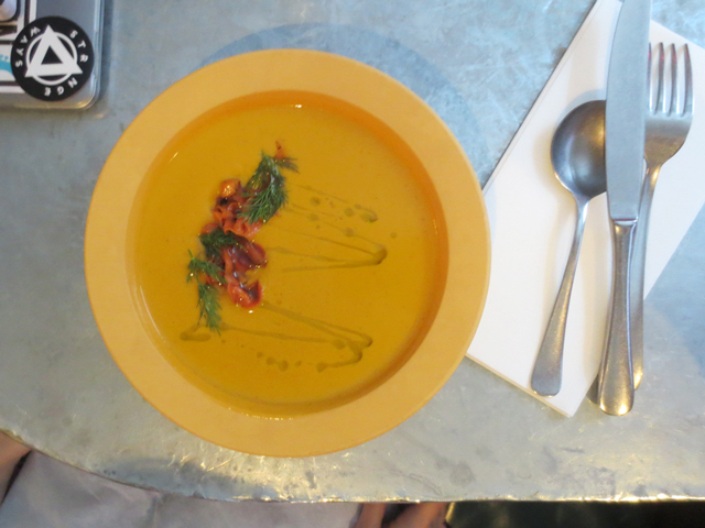 soup at drake commissary