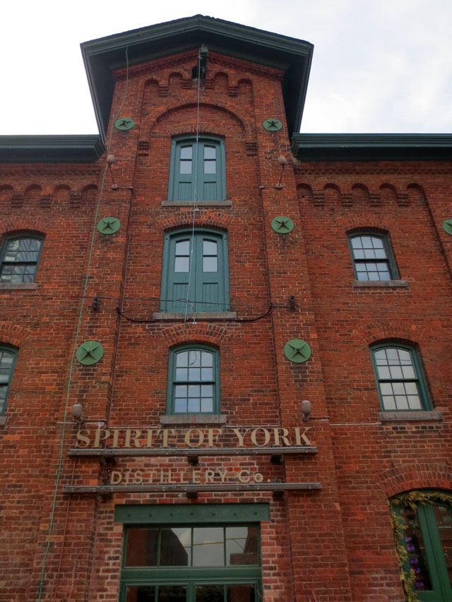 spirit of york distillery toronto distillery district