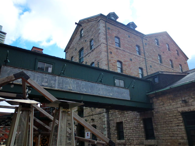 toronto distillery district 1